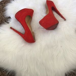 Red Christian louboutin size 37